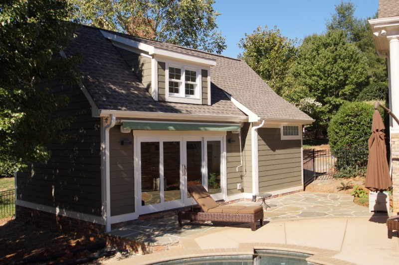 pool house home addition