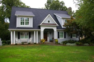 after a vertical custom home addition