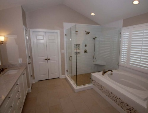 Master bathroom remodel – Updating for style and function