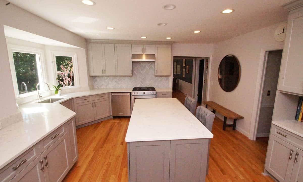 Kitchen renovation updating a 1970s kitchen palmer for 1970s house renovation