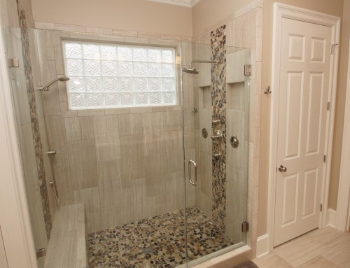 Soak up the luxury of a spa-like master bathroom remodel