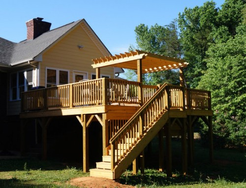 Take cover with an exposed deck renovation!