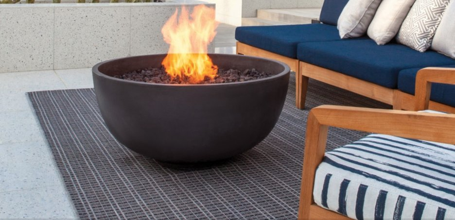 ecofriendly outdoor fireplaces