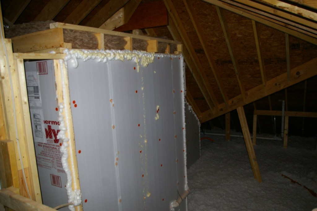 attic radiant heat barrier