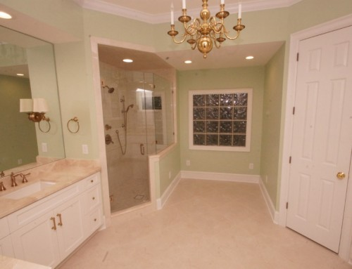 Master bath remodel – Solving moisture problems