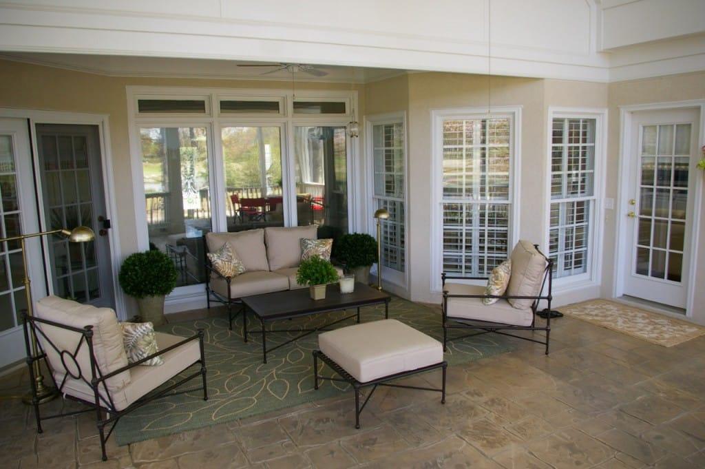 screened porch renovation