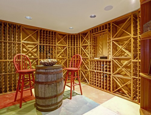 Cheers to wine room additions