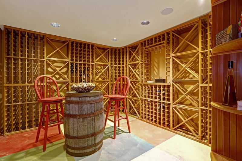 wine cellar addition wine room remodeled
