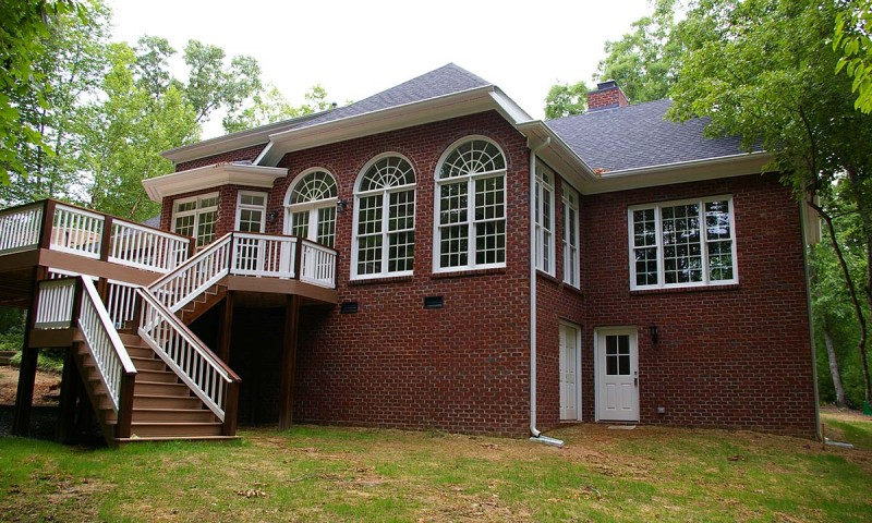 rear of home home addition