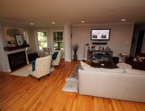 Charlotte home remodeling: Making small spaces live larger