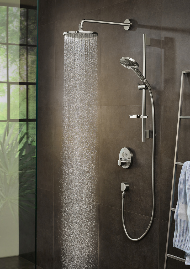 PowderRain from Hansgrohe mater bathroom remodel project