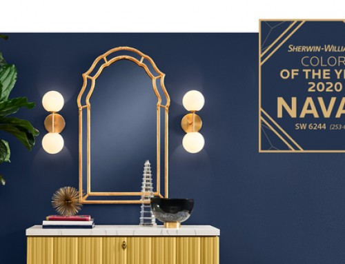 2020 Color of the year: Naval influences