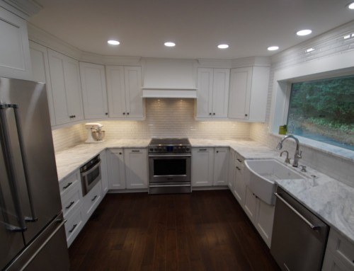 Open and Bright Kitchen Remodel