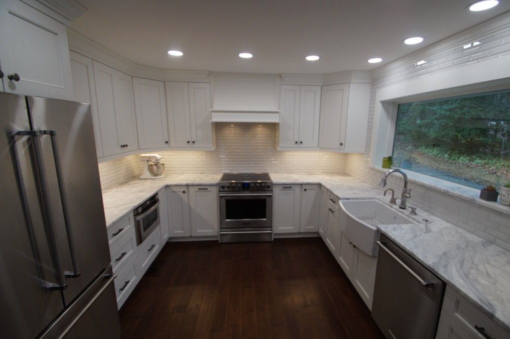 kitchen remodel after photo