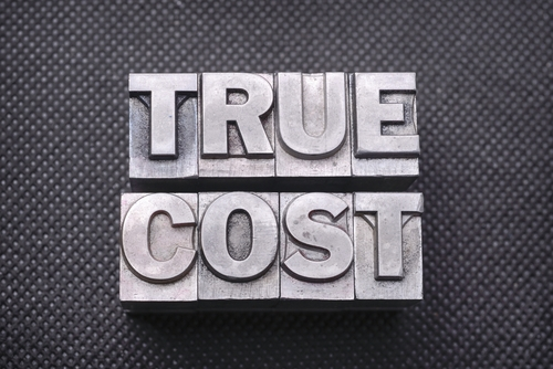 True Cost graphic