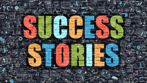 success stories graphic